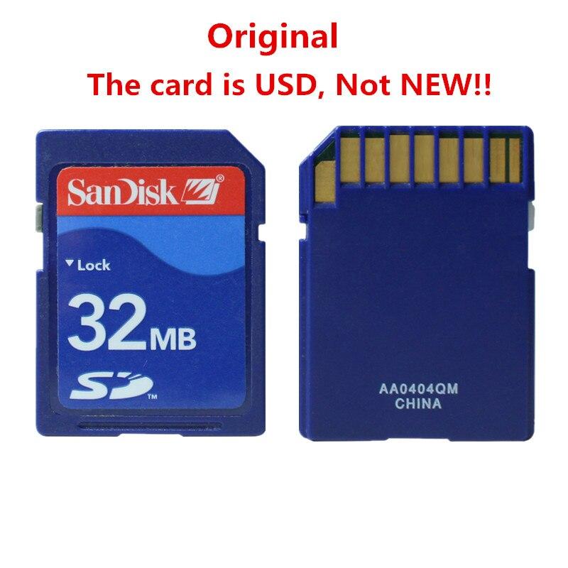 10pcs/lot Sandisk SD Card 32MB SD Memory Card Secure Digital Flash Memory Card