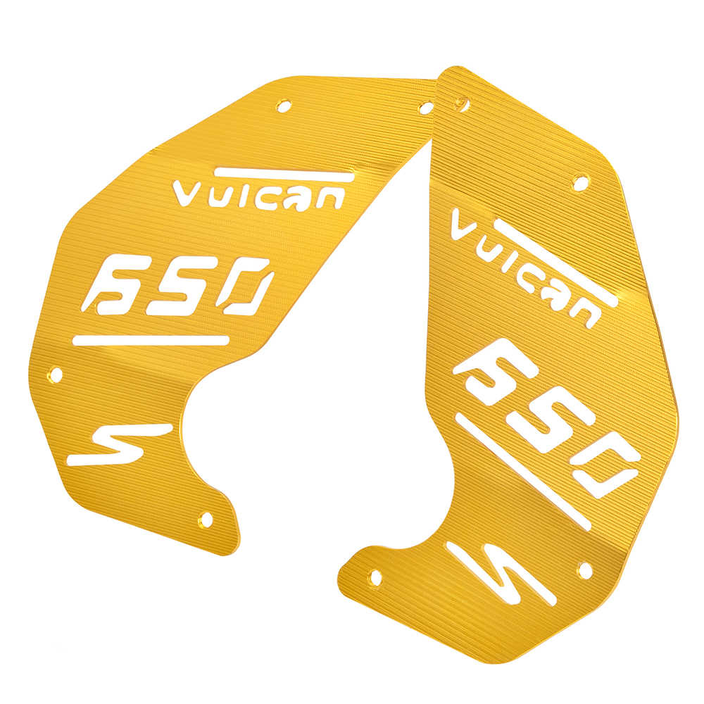 ЧПУ алюминиевая правая левая Крышка для украшения двигателя, боковая защитная пластина для Kawasaki Vulcan VN 650 VN650 2015 2016 2017 2018 2020 2020
