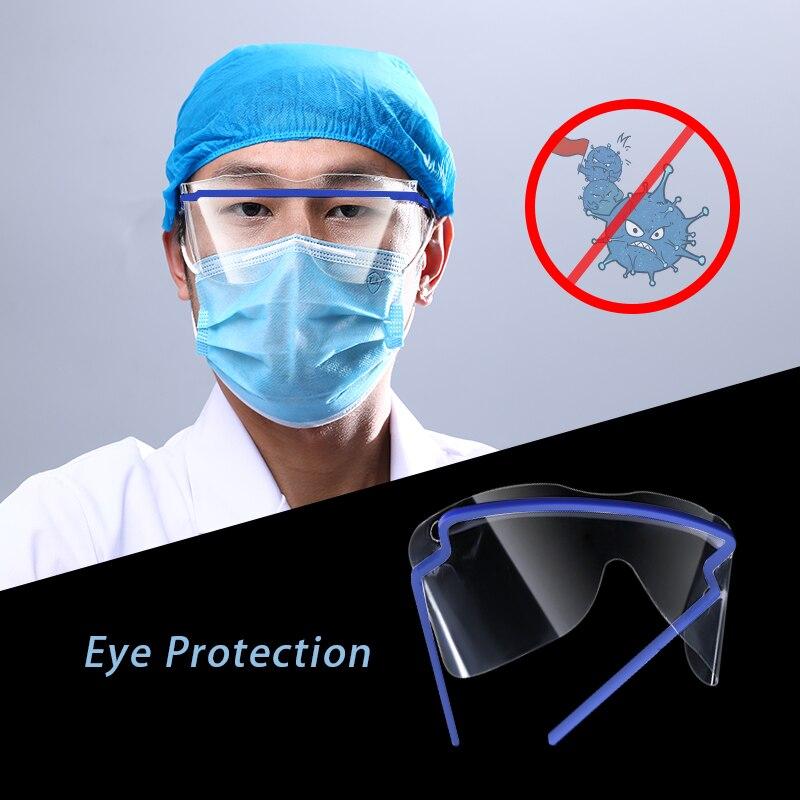 Disposable Eyes Protective Glasses Plastic Safety Glasses For Virus/Oil/Dust