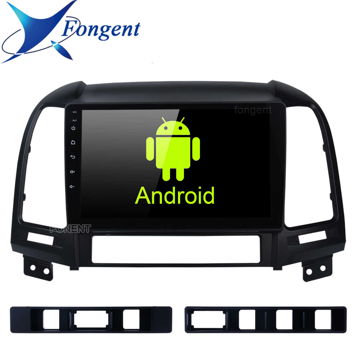 Voor Hyundai Santa Fe 2005 2006 2007 2008 2009 2010 2011 2012 Android 9.0 Auto Radio Multimedia Player Gps Hoofd unit Stereo Audio