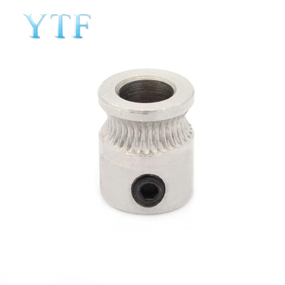MK8 Driver Gear 9mm*5mm*11mm Part For Extruder 1.75mm 3.0mm Filament 3D Printers Parts Extrusion Wheels 5mm Pulle