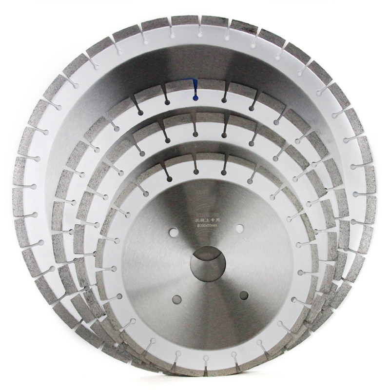 High Quality  Factory Laser/ Brazed Circular Saw Blade Diamond Saw Blade  Diamond Segment Cutting Concrete And Granite