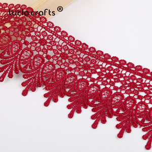 Image 3 - Lucia crafts  Embroidered  Lace Fabric 2020  Sewing Handmade DIY Dress Clothes  1y/2y N0508