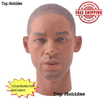 In Store 1/6 Scale Action figure accessory Black Man Smith Male Head Sculpt V1M Body For 12 Inch Hot Toys 1/6 Ph Doll Body Figur 1 6 scale male king leonidas calm face head for 12 male head carving model fit 12 action figure body doll toys accessories