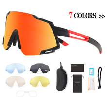 Cycling Goggles Polarized 5 Lens Cycling Glasses Road Bike Cycling Sunglasses MTB Mountain Bicycle Cycling Eyewear cheap cycearth General 131MM Plastic 60MM Unisex SS838 Acetate Multi Cycling Bike Bicycle Sports Factory Direct Sales UV protection