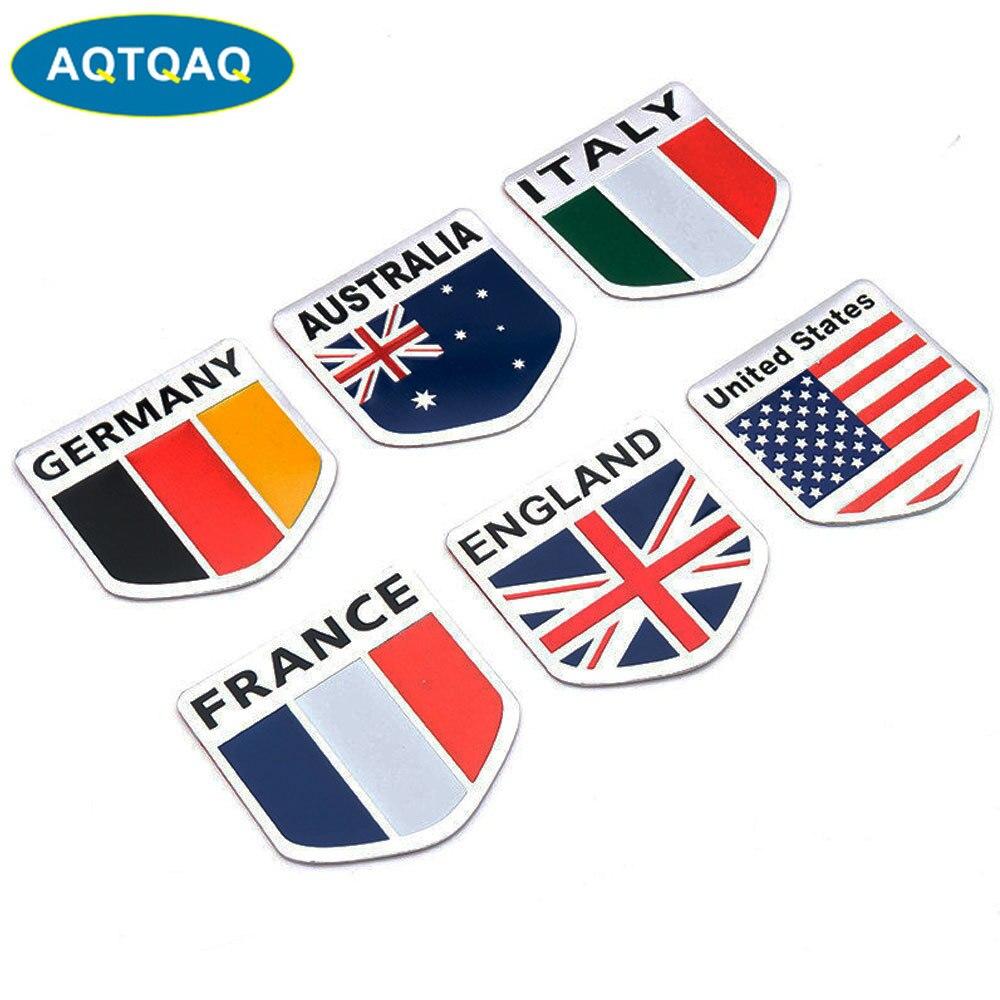 Australia country shield flag sticker vinyl decal