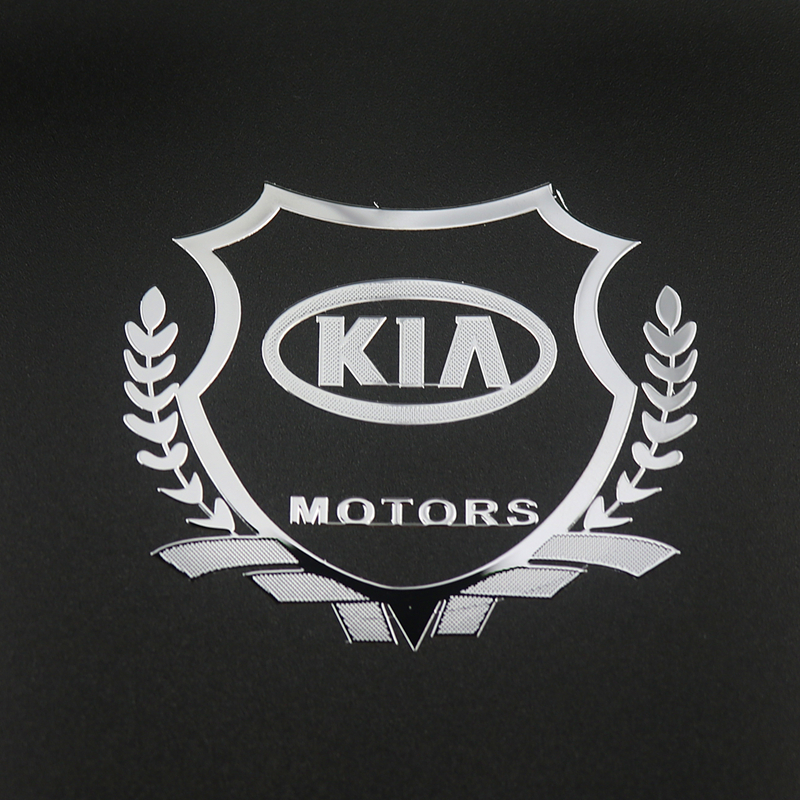 2Pcs Excellent 3D Metal Car Sticker Emblem Badge Case For Kia Ceed Rio Sportage R K3 K4 K5 Ceed Sorento Cerato Optima Car Stylin