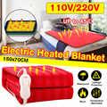 150x70cm 110 V/220 V manta eléctrica eficiente de invierno calentador de un solo cuerpo termostato calentador eléctrico manta calefactora