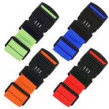 Багажные безопасные ремни с замком, регулируемые комбинированные багажные ремни, багажные ремни для путешествий, багажные ремни с замком, аксессуары для чемодана