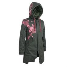 Brdwn Danganronpa 2:Goodbye Despair Unisex Komaeda Nagito Cosplay Costume Long Hoodie Casual Coat Cotton-padded Wadded Jackets