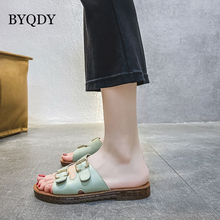 BYQDY Summer Open Toe Beach Shoes Ladies Slip On Patent Leather Sandals Rome Women Shoes Comfort Wedge Heels Sandals Rubber Sole 2017 new fashion hgh top women sandals rome styles open toe summer beach shoes slip on female buckles sandals
