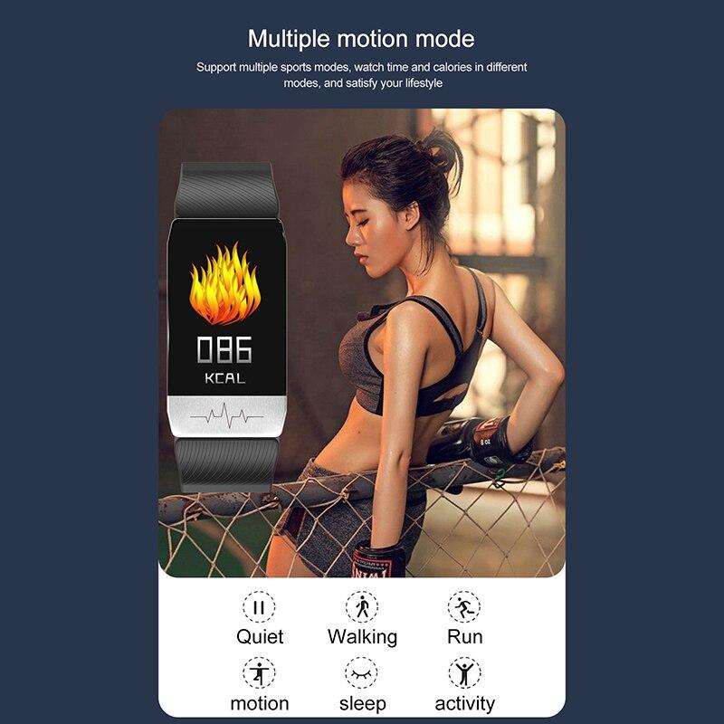 temperatura do corpo fitness relógio ecg controle