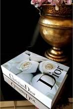 Boîte à livres de décoration pour la maison, livraison gratuite, boîte de rangement, joli cadeau, cuisine pour la maison