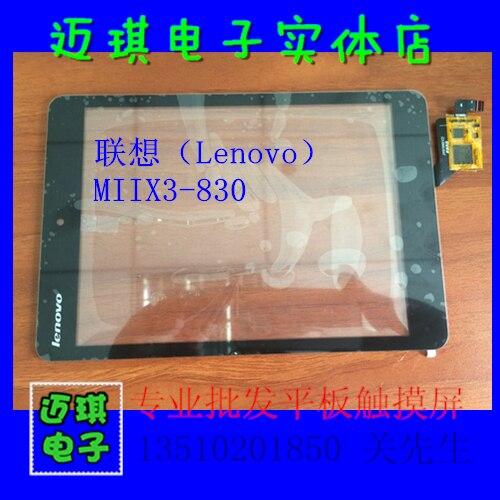 7.85 pouces pour Lenovo MIIX3-830 FP-ST079SM000AKM décran tactile DY07090V2