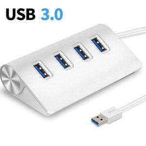 Adaptateur d'alimentation Portable en aluminium 5Gbps, HUB USB 3.0 4/7, adaptateur d'alimentation haute vitesse, multi-usb 3.0, Hub, séparateur USB pour PC adaptateur pour ordinateur Portable