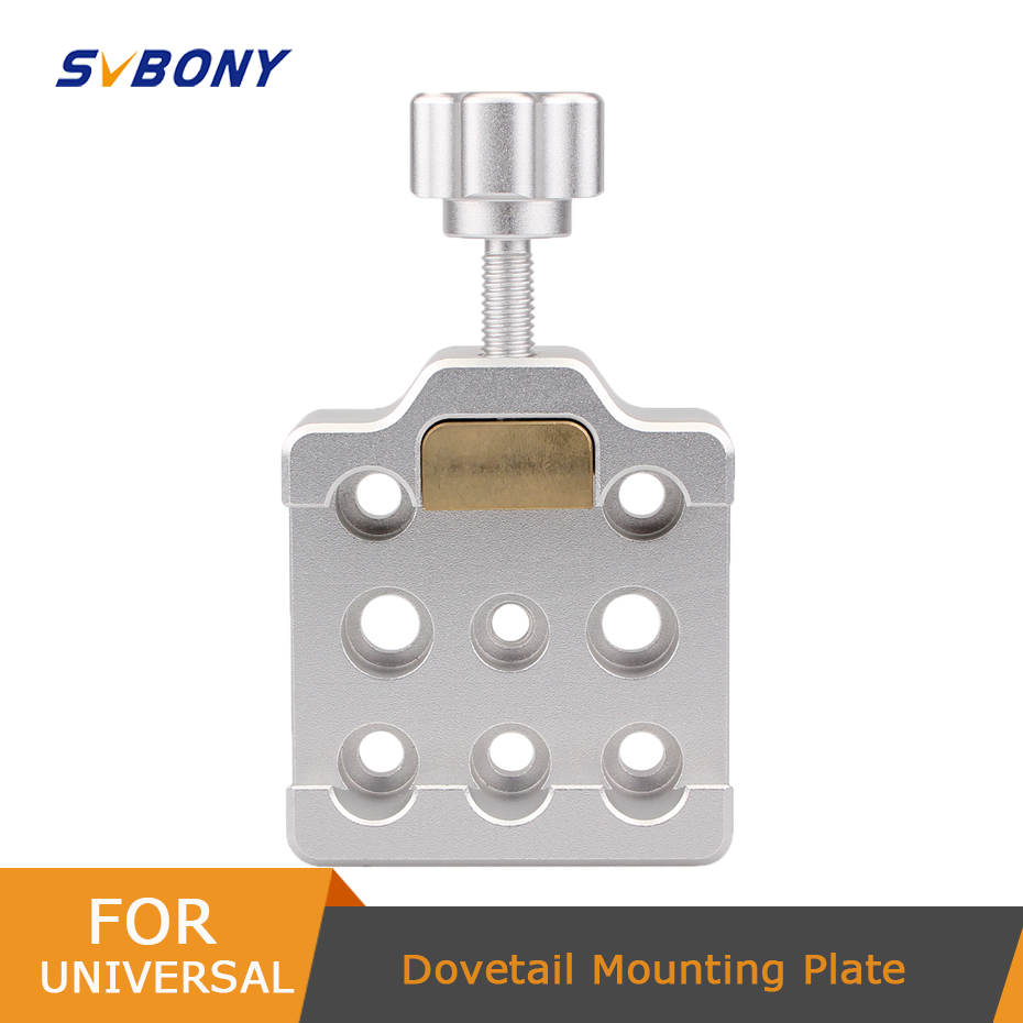 SvBony Dovetail Clamp Fully Metal Middle Size Dovetail for Astronomy Telescopes w Brass Screws Dropshipping F9144
