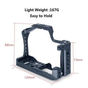 Image 5 - Pro Legering Camera Kooi Voor Canon Eos M50 Cnc Dslr Case Koude Schoen Mount Uitbreiding Cover Quick Relase Plaat ondersteuning Fotografie