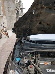 Image 3 - Hidrolik çubuk araba ön kaput kaputu kapağı destek dikme çubukları Honda CRV CR V 2006 2011 3TH sondaj/kaynak