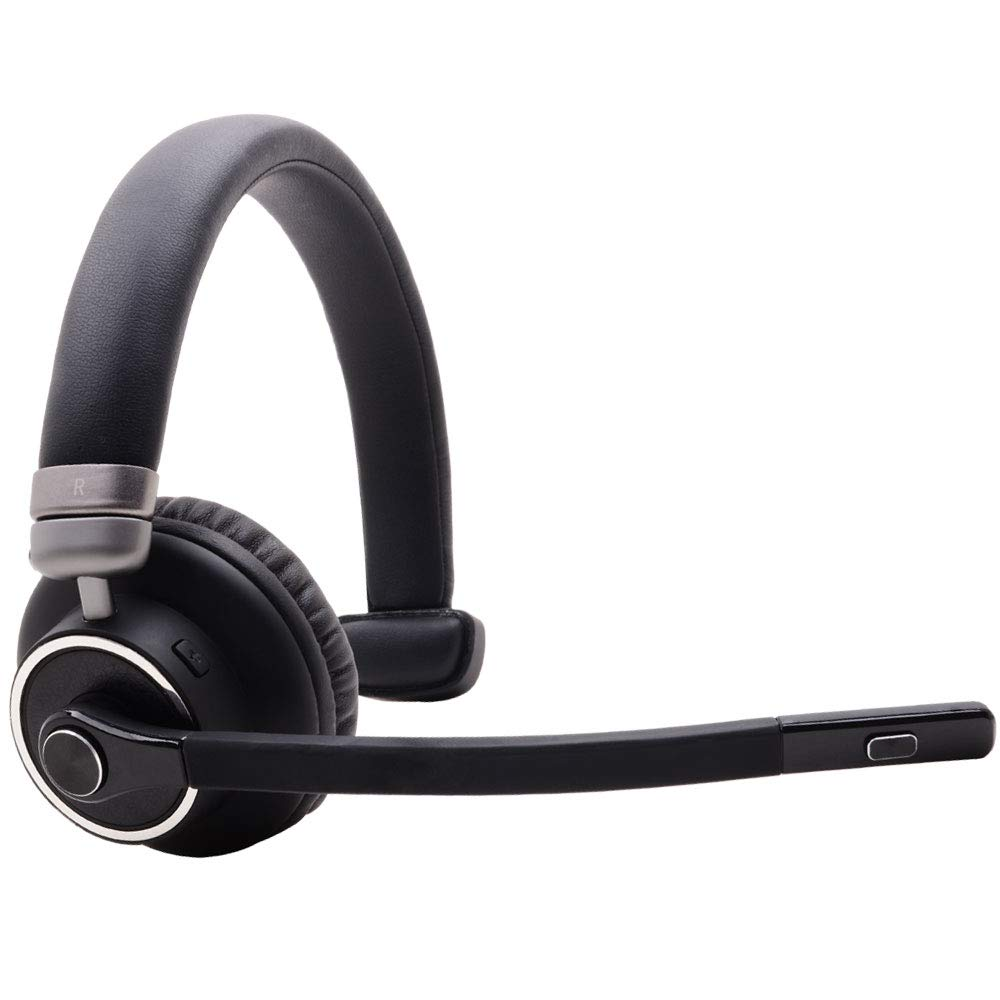 Bluetooth Headset M91 Wireless Headset 1drag 2 Bt Noise Cancelling Earphone Mute Button With Microphone For Trucker Drivers Bluetooth Earphones Headphones Aliexpress