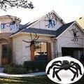 30cm/50cm/75cm/90cm/125cm/150cm/200cm Black Spider Halloween Decoration Haunted House Prop Indoor Outdoor Giant Decor