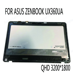 For Asus Zenbook UX360U UX360UA LCD Screen+Touch Digitizer Assembly 3k 3200*1800 laptop panel LP133QD1 SPB2 40 PIN LVDS