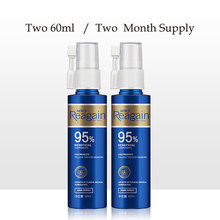 2pcs Hair Growth Oil Treatment Anti Hair Loss Men Beard Growth Oil Topi