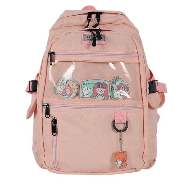 Купить женский рюкзак повседневный школьный для школы дорожный девочек картинки цена