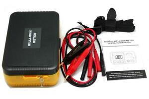 VC480+ Precision Milliohm Meters Vs Extech 4 Wire Kelvin Clip 0 Adjust Large LCD