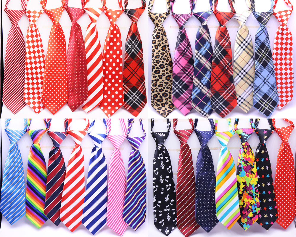 Wholesale Large Dog Neckties 50/80/100pcs/lot Mix 30color Large Size Dog Tie Neck Adjustable Large Dog Ties Grooming ties-in Dog Accessories from Home & Garden    1