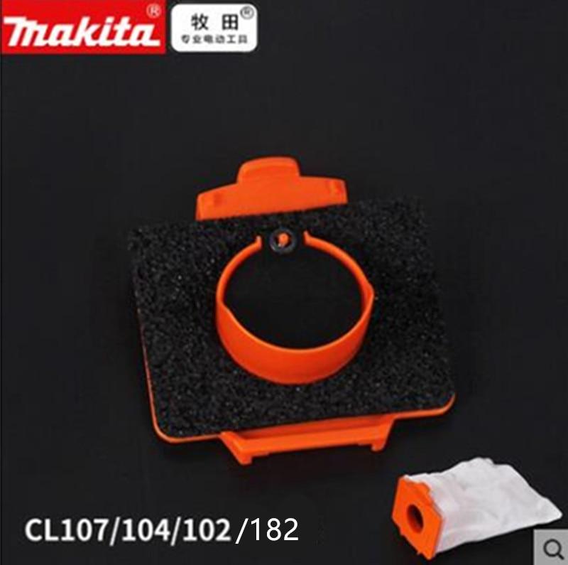 MAKITA Fabric  Dust Bag  Valve Frame Assembly 143677-9   For DCL182 CL107 CL102D CL104D  BCL182 LXLC01 BCL142 CL072D 4013D 4073D