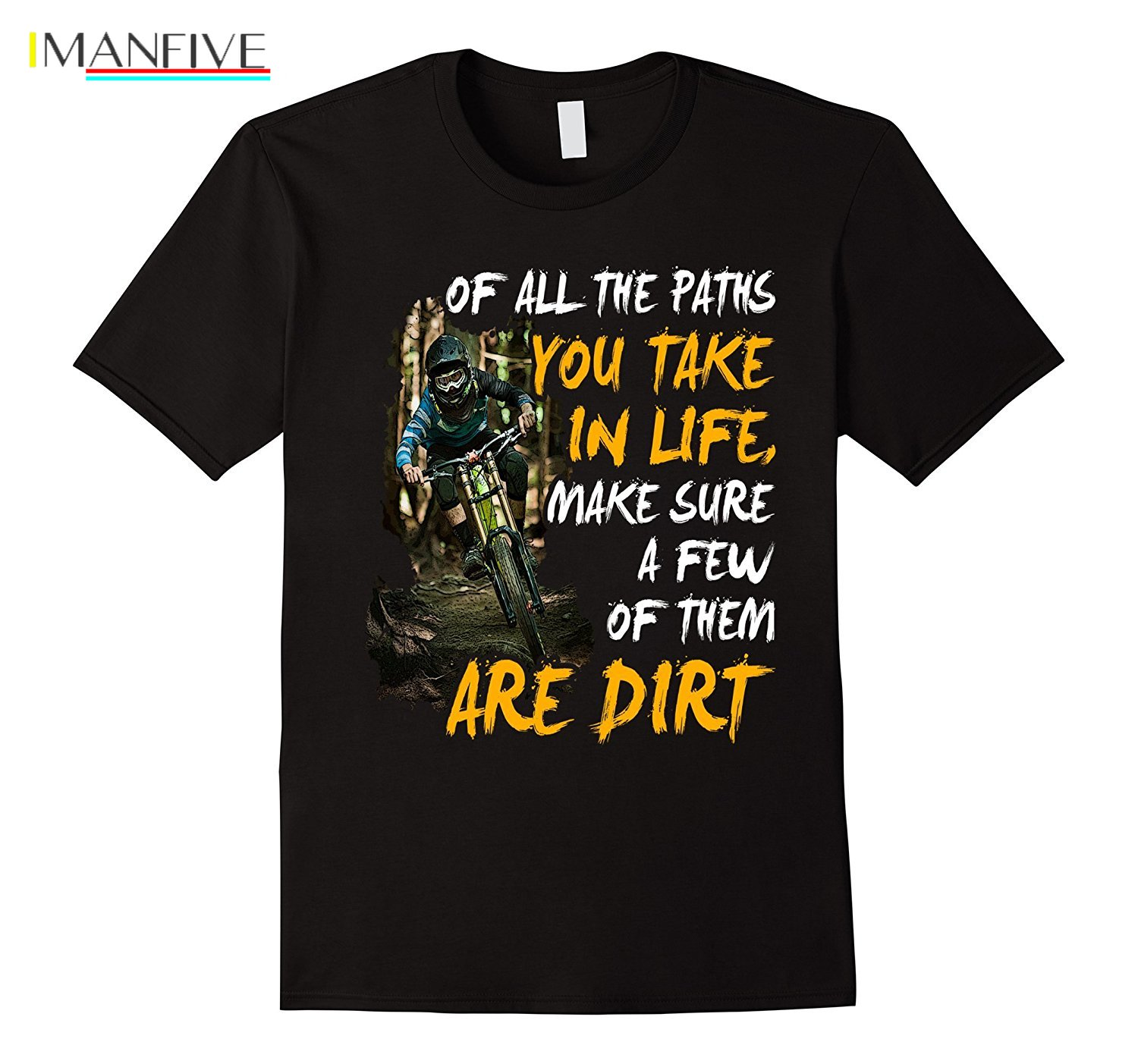 2019 New Summer Casual Men Tee Shirt Of All Path Mountain biker MTB TShirt in T Shirts from Men 39 s Clothing