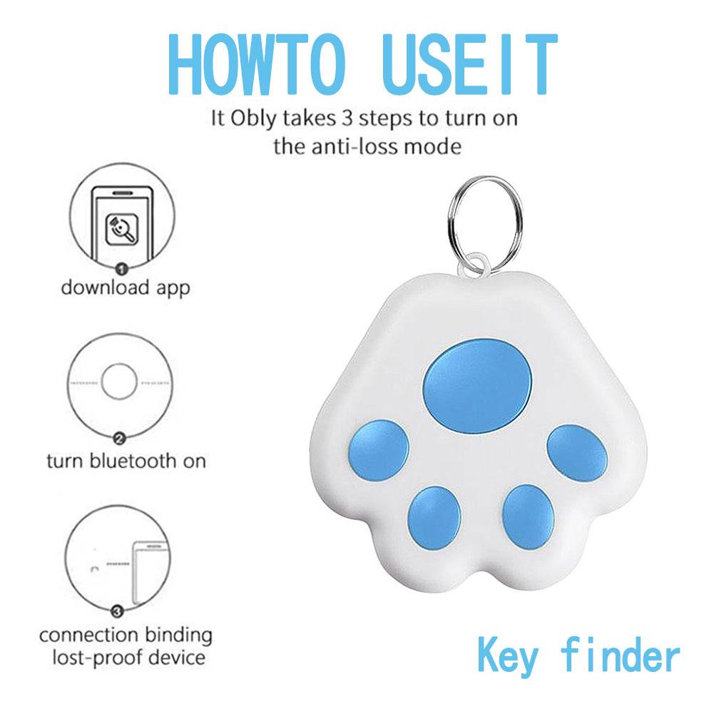 Key Finder Bluetooth Wireless  Key Locator Keyring Anti-Lost Smart Tracker For Purse Wallet Car Keys GPS Tracker Anti-Lost Alarm