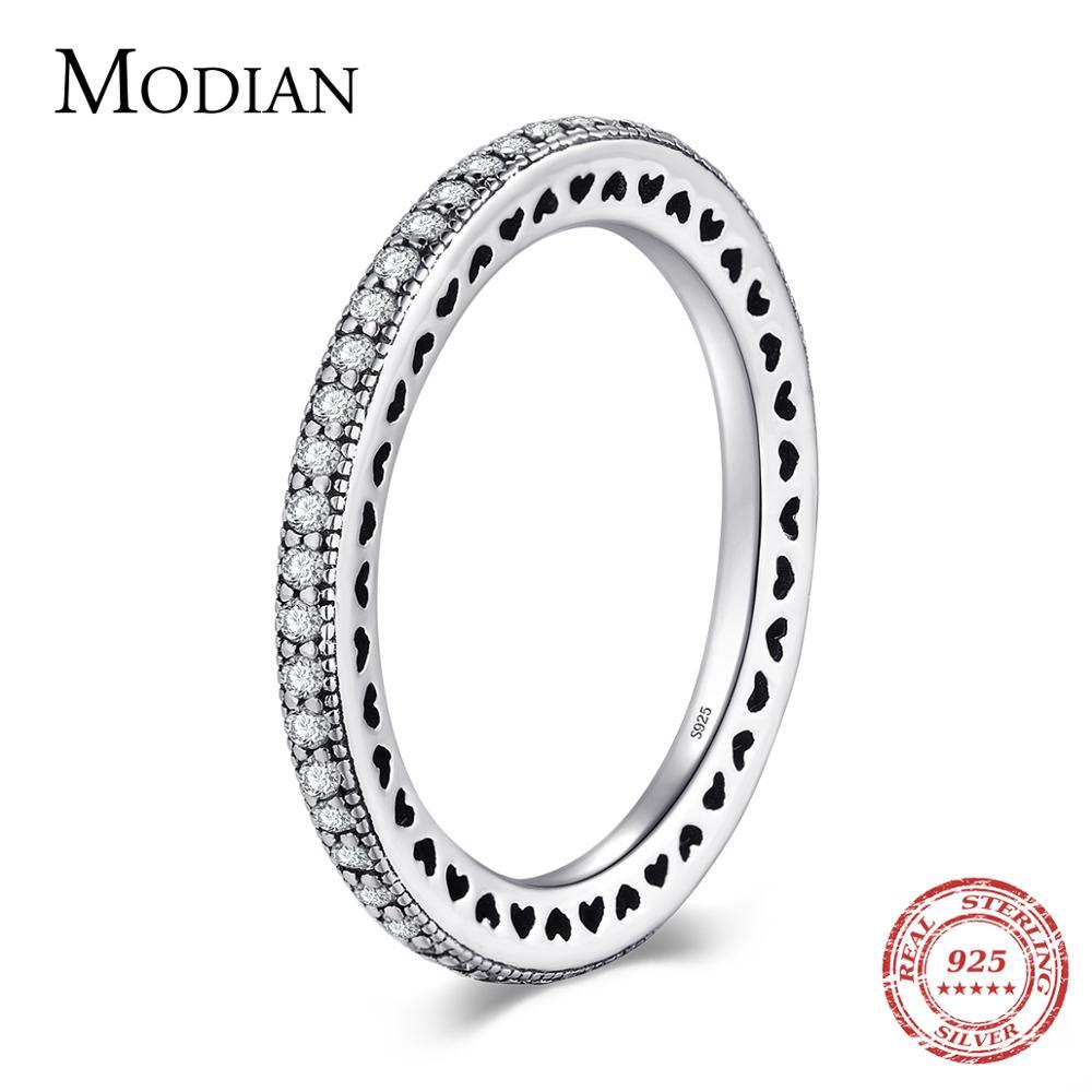 טבעת ללבות אותנטית מכסף אמיתי 1