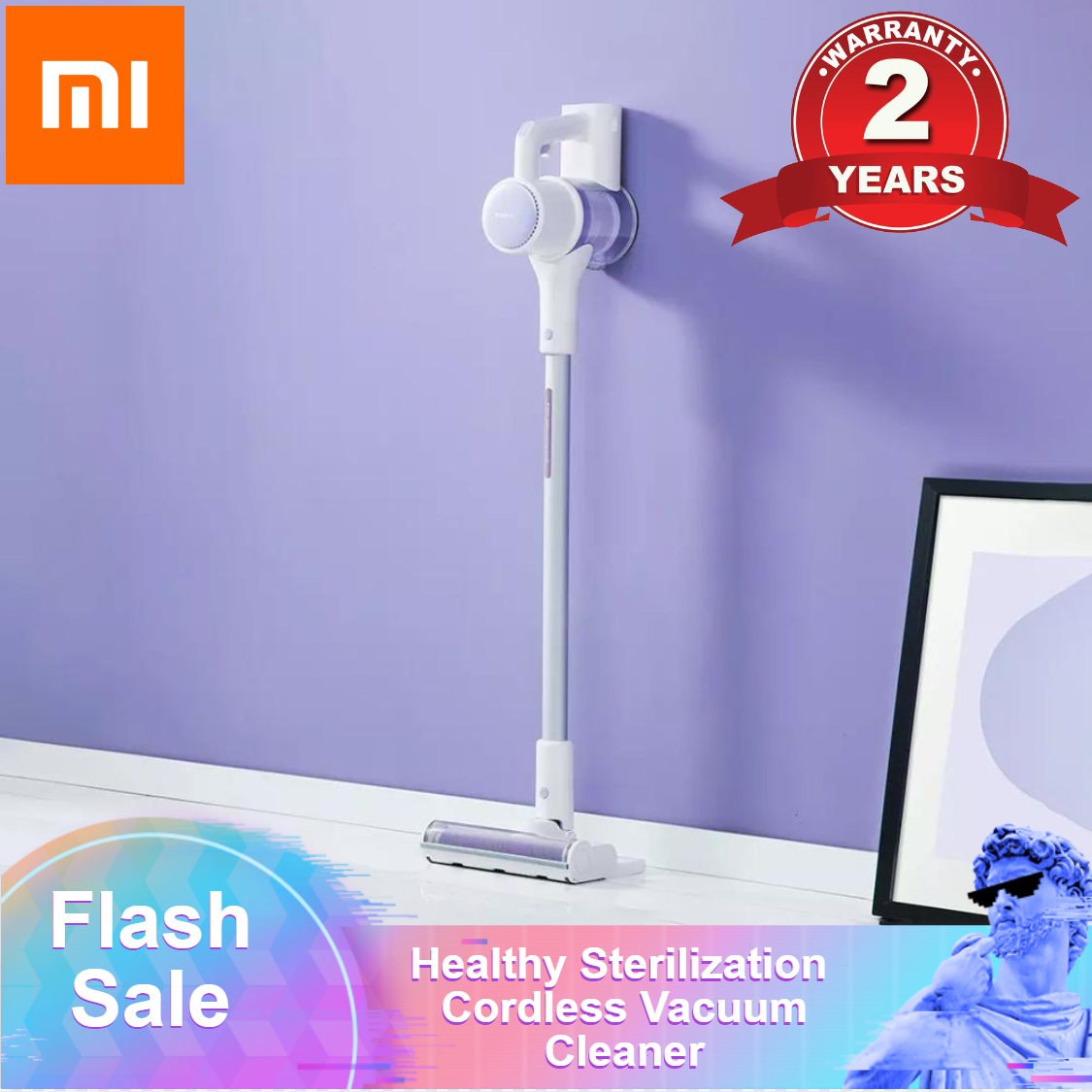 Xiaomi Roidmi ZERO Vacuum Cleaners Healthy Sterilization Robot Cordless Vertical Vacuum Cleaner Wireless For Home Appliances