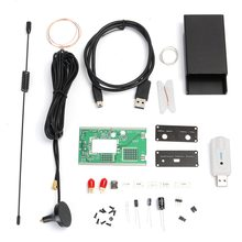 DIY Kit 100KHz-1.7GHz Full-Band Radio Frequency Modulation HF FM AM USB SSB Amateur Software Radio RTL-SDR Receiver(China)