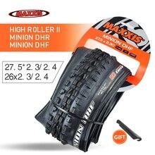 عالية الأسطوانة إطار دراجة 26 27.5 لايحتاج جاهزة TR 26*2.4 2.5 27.5*2.5 2.4 دراجة هوائية جبلية الإطارات للطي الإطارات العميل DHF DHR