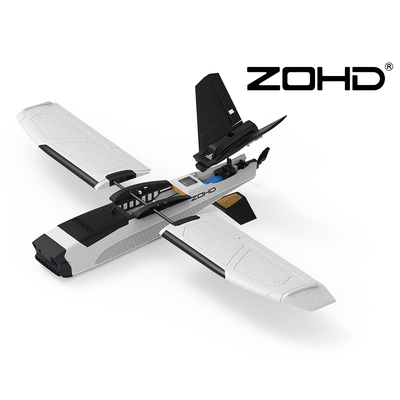 ZOHD Talon GT RC FPV Airplane PNP UAV Drone Wingspan 39.37inches 1000mm Reversed Wingtips and V Tail Layout Aircraft image