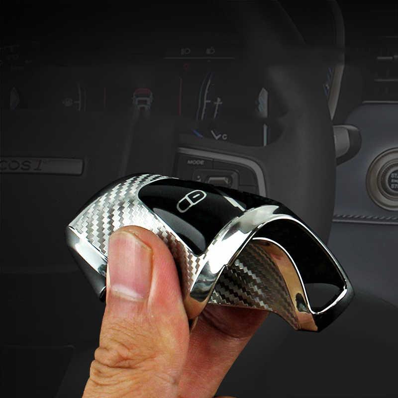 غطاء حماية لمفتاح السيارة من الألياف الكربونية من البولي يوريثان الحراري لـ Volkswagen VW Golf 7 mk7 مقعد إيبيزا ليون FR 2 Altea Aztec لسكودا أوكتافيا