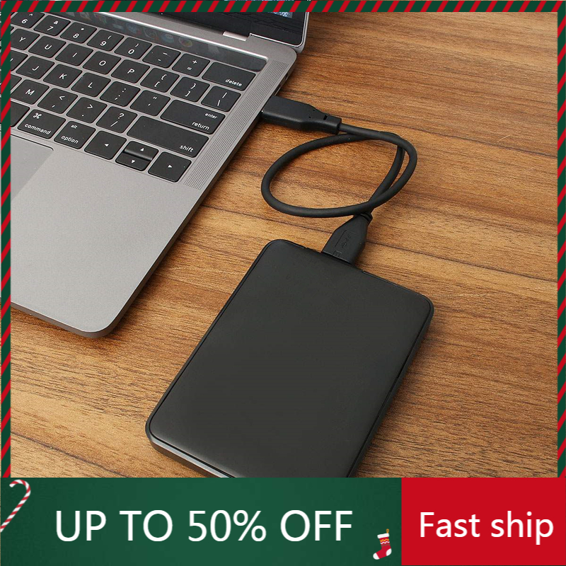 1 ТБ/2 ТБ Портативный внешний жесткий диск HD высокой емкости SATA USB 3,0 устройство хранения ОРИГИНАЛ для ноутбука