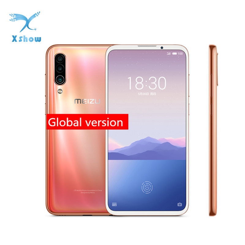 "Global Version Meizu 16XS 6GB 64GB 16 XS Smart Phone Snapdragon 675 6.2"" 48MP Triple Camera AI Front 16MP 4000mAh