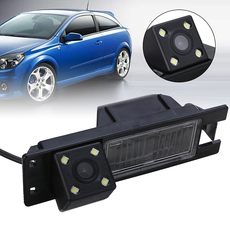 4LED Car Rear View Camera Waterproof Backup Cameras Kits Night Vision For Opel Astra H J Corsa Meriva Vectra Zafira Insignia
