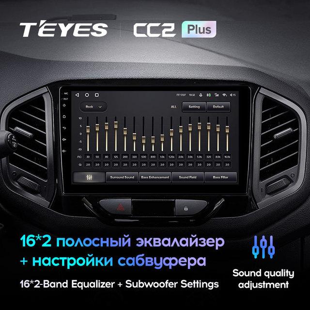 TEYES CC2L и CC2 Plus Штатная магнитола For Лада ВАЗ Xray For LADA Xray X ray 2015 - 2019 Android до 8-ЯДЕР до 6 + 128ГБ 16*2EQ + DSP 2DIN автомагнитола 2 DIN DVD GPS мультимедиа автомобиля головное устройство 5