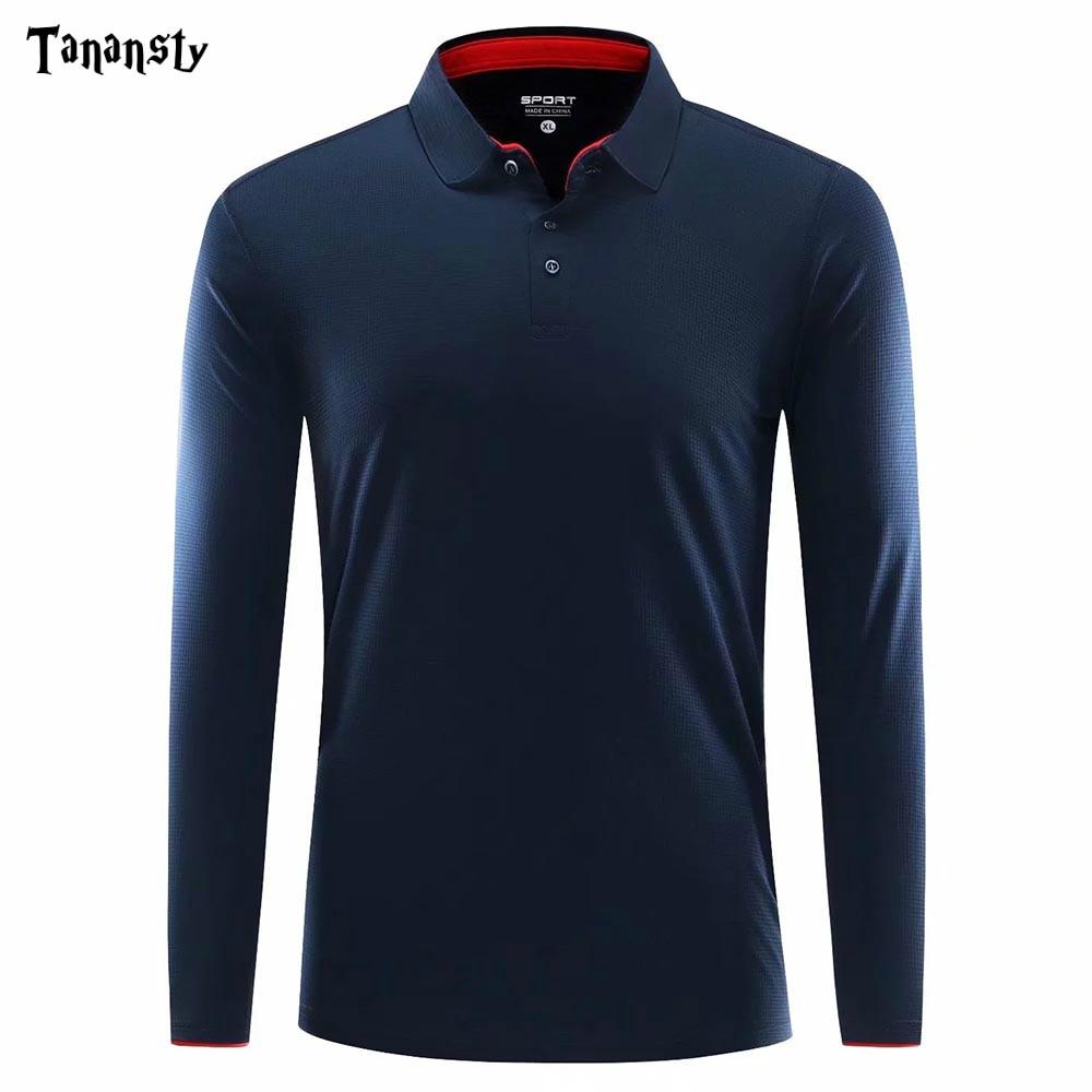 Golf Shirts Men Shirt Pol O Women Clothes Shirt Long Sleeve Golf Wear Women Breathable Ladies Golf Apparel Sport Fitness Tennis