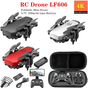 RC Helicopter LF606 Video Shooting Mini Drone Wifi FPV 4K HD Camera Altitude Hold RC Quadcopter Toy Best Toy for Beginner(China)