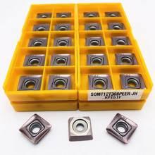 10 pièces carbure insertion SOMT12T308 JH VP15TF haute qualité métal carbure outil SOMT 12T308 CNC pièces outil de coupe SOMT outil de tournage