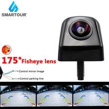 Smartour Nacht Vision Fisheye Objektiv Fahrzeug Reverse Backup Rückansicht CVBS Kamera Für Alle Android DVD Monitor Neue HD 1296*1080P