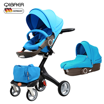EU High Quality Export Baby Strollers High Landscape Baby Stroller Send Newborn Baby Use  Baby Bassinet цена 2017