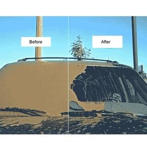 Image 4 - Dpro Window Coating Water Repellent Waterproof Coating Super Hydrophobic Ceramic Coating For Windshield Liquid Glass