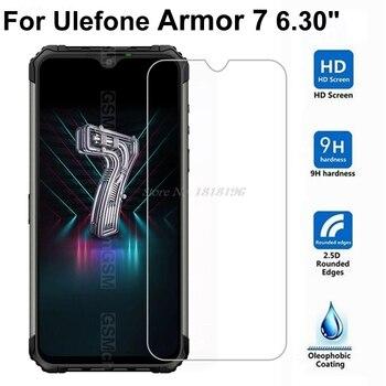 2.5D 9H vidrio templado para Ulefone Armor 7 Protector de pantalla película protectora endurecida para Ulefone Armor 7E película de pantalla de vidrio