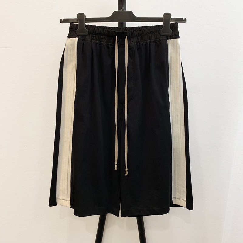 Sureme 2019 New Ro Minimalism Loose Fit Harem Shorts Men Women Hiphop Streetwear Men Casual Shorts New York Designer Shorts Men